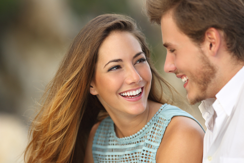 Cosmetic Dentistry Couple